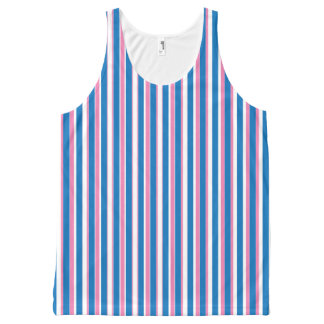 Blue and Pink Stripes Pattern
