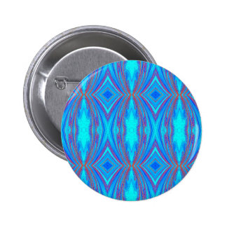 Blue And Pink Texture 2 Inch Round Button