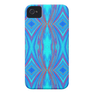 Blue And Pink Texture iPhone 4 Covers