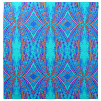 Blue And Pink Texture Napkin