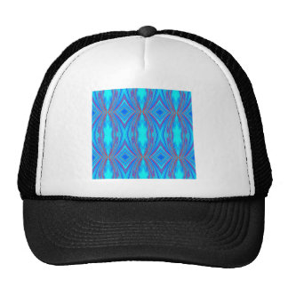 Blue And Pink Texture Trucker Hat