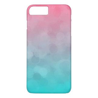 Blue and Pink Vintage Design iPhone 7 Plus Case