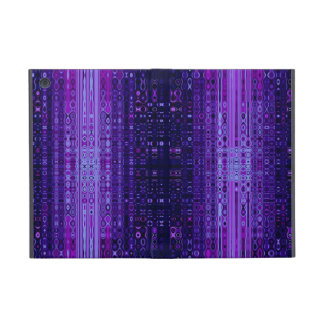 Blue and Purple Abstract pattern iPad Mini Case