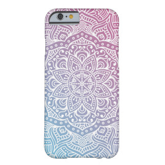 Blue and Purple Boho Chic iPhone 6 case