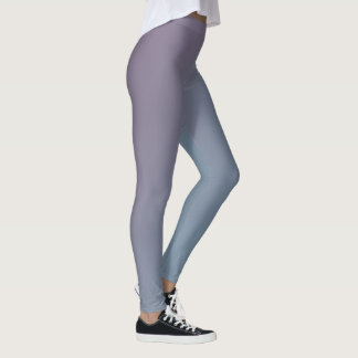 Blue and Purple Gradient Leggings