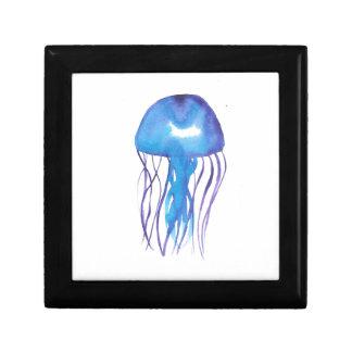 Blue and Purple Jellyfish Gift Box