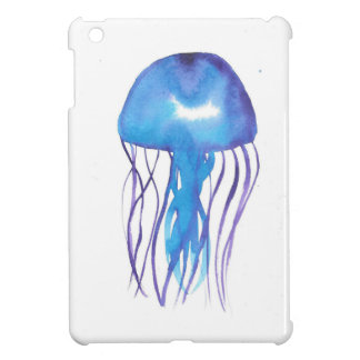 Blue and Purple Jellyfish iPad Mini Case
