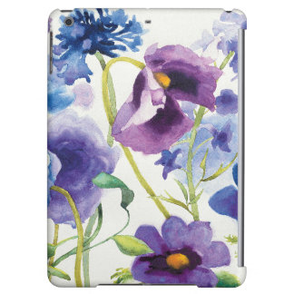 Blue and Purple Mixed Garden iPad Air Case