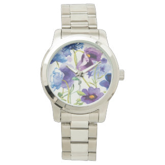 Blue and Purple Mixed Garden Watch