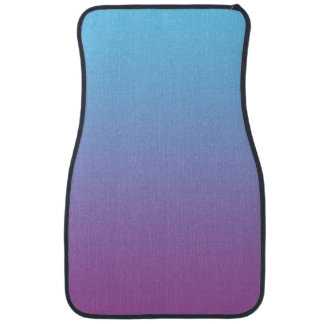 """Blue And Purple Ombre"" Car Liners"