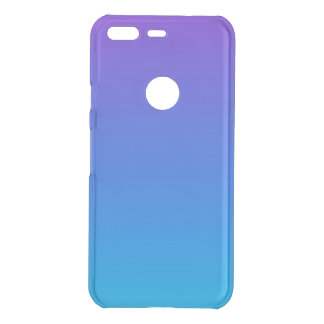 Blue and Purple Ombre Google Pixel Clearly™ Case