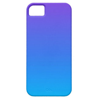 Blue and Purple Ombre iPhone SE/5/5s Phone Case