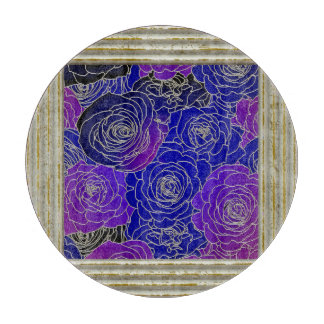 Blue And Purple Roses Boards