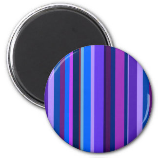 Blue and purple vertical stripes magnet
