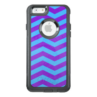 Blue and Purple Watercolor Chevron Texture OtterBox iPhone 6/6s Case