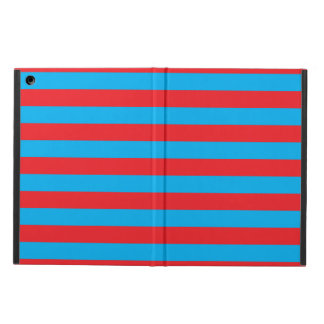 Blue and Red Horizontal Stripes Case For iPad Air