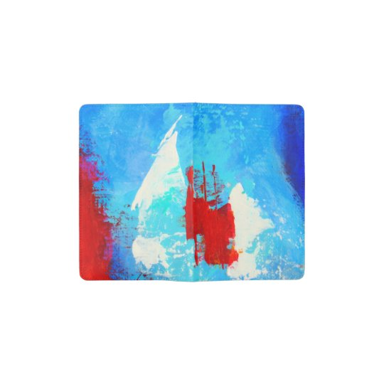 Blue and Red pocket notebook
