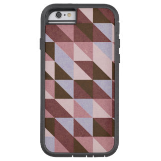 Blue and Red Triangles on Tough Xtreme Tough Xtreme iPhone 6 Case