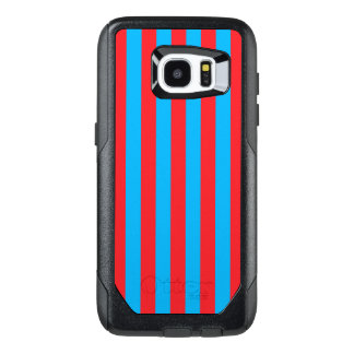 Blue and Red Vertical Stripes
