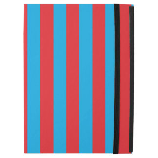 """Blue and Red Vertical Stripes iPad Pro 12.9"""" Case"""