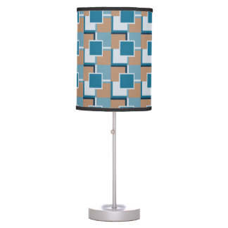 Blue and Tan Dakota Table Lamp