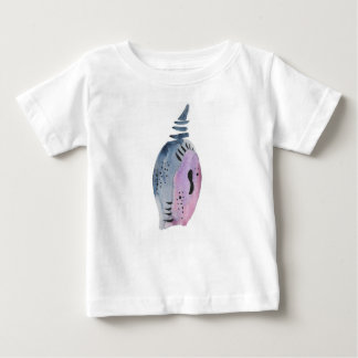 Blue and violet cocoon baby T-Shirt