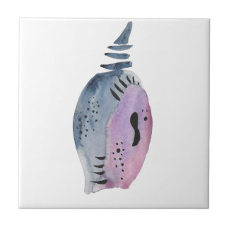 Blue and violet cocoon tile