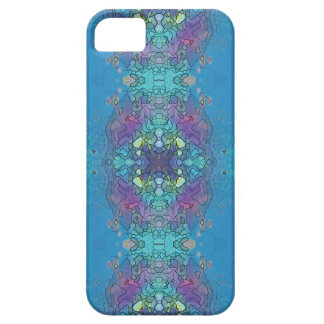 Blue and violet ocean impression iPhone 5 case