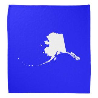 Blue and White Alaska Do-rags