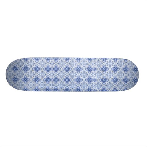 Blue and white background, Blue and white backg... Skateboard