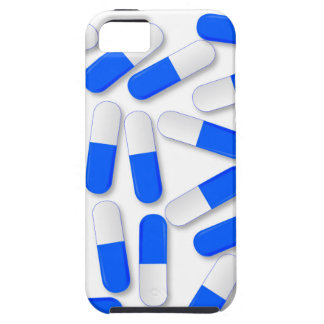 Blue And White Capsules iPhone 5 Covers