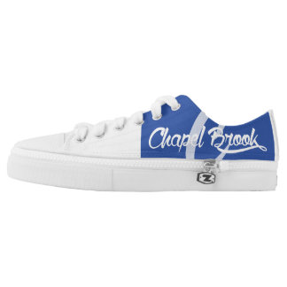 blue and white chapel brook canvas shoes
