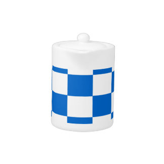 Blue and White Checkerboards