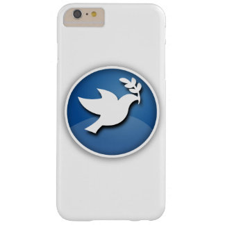 Blue and White Dove of Peace Barely There iPhone 6 Plus Case