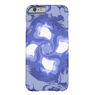 blue and white iPhone / iPad case
