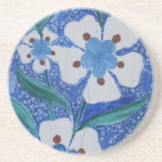 Blue and White Ottoman Ceramics - 18th century Coaster