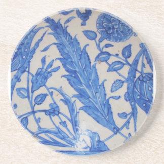 Blue and White Ottoman Ceramics Coaster