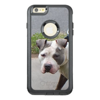Blue and White Pit Bull Dog OtterBox iPhone 6/6s Plus Case