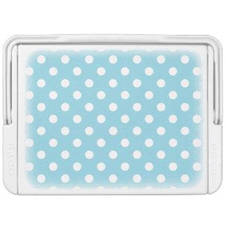 Blue and White Polka Dot Pattern