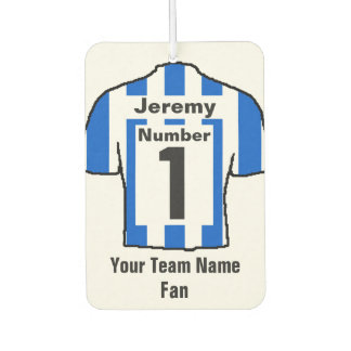 Blue and White Shirts Fan Car Air Freshener