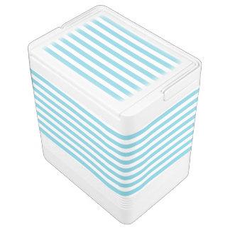 Blue and White Stripe Pattern