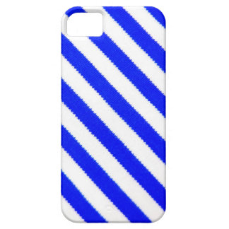 Blue and white stripes design iPhone 5 case