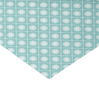 Blue and White Tissue Paper