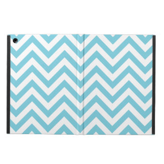 Blue and White Zigzag Stripes Chevron Pattern Case For iPad Air