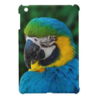 Blue and Yellow Bird iPad Mini Cover
