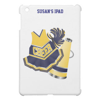 Blue and Yellow Cheer iPad Mini Case