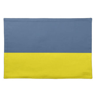 Blue and Yellow-Gold Placemat