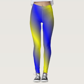 Blue and Yellow Leggings