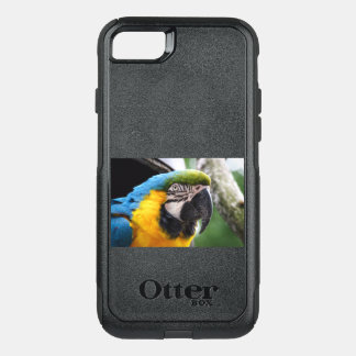 Blue and Yellow Macaw OtterBox Commuter iPhone 8/7 Case