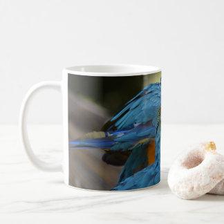 Blue and yellow Macaws Coffee Mug
